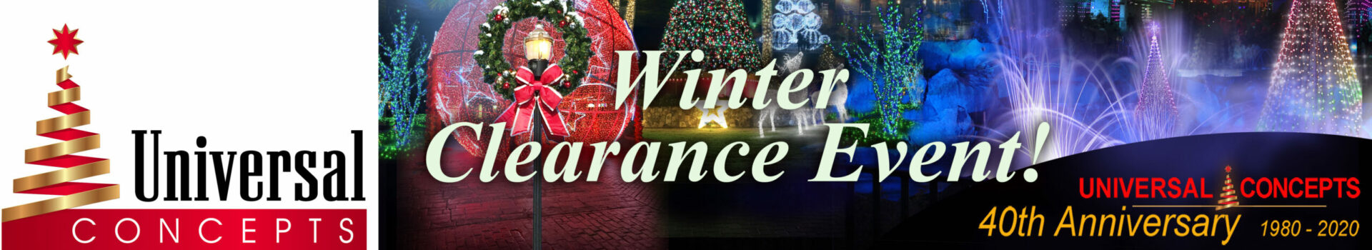Logo and Banner Winter Clearance