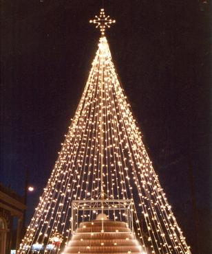 One of our versatile and budget conscious trees of light