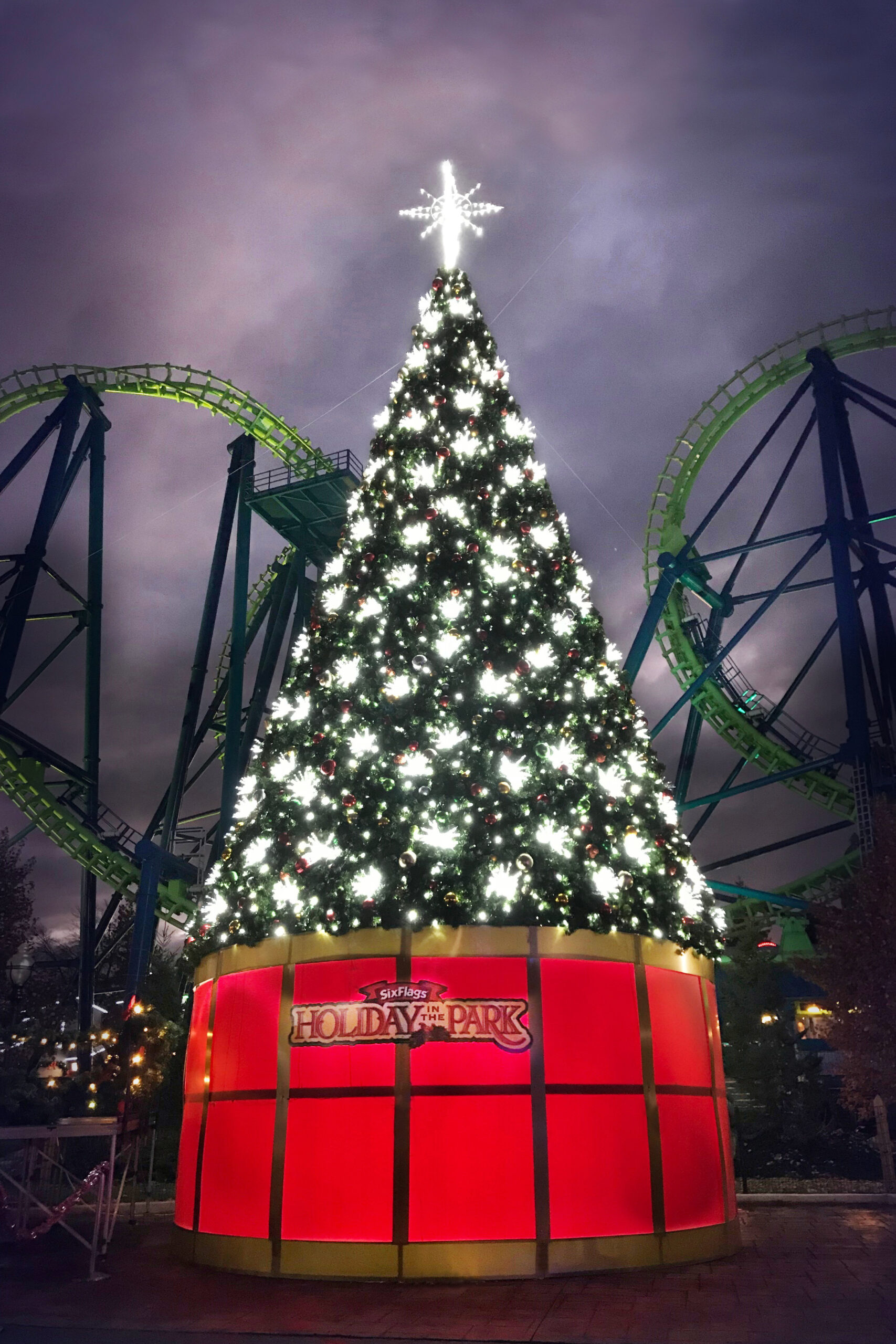 Six Flags New England Panel Tree by Universal Concepts