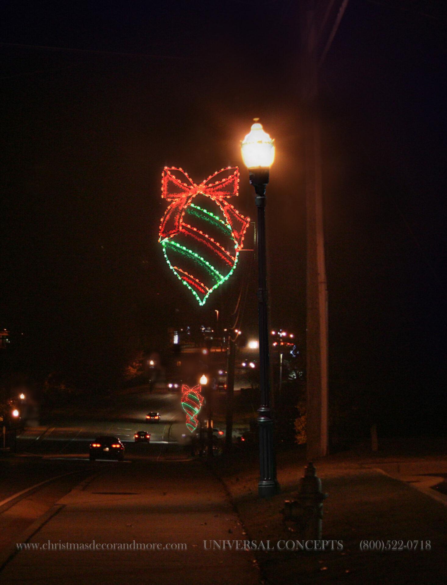 Our Grand Ornament Pole Decor
